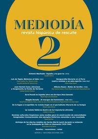 MEDIODÍA. REVISTA HISPÁNICA DE RESCATE. 2                                       NÚMERO 2