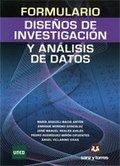 FORMULARIO DE DISEÑOS DE INVESTIGACIÓN Y ANÁLISIS DE DATOS