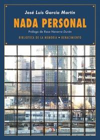 NADA PERSONAL. DIARIOS 2012-2013