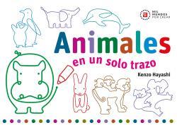 ANIMALES EN UN SOLO TRAZO.