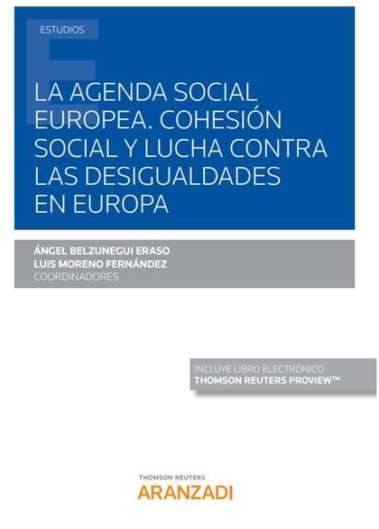 AGENDA SOCIAL EUROPEA COHESION SOCIAL Y LUCHA DESIGUALDADES.