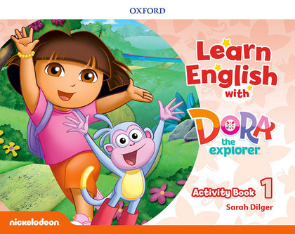 LEARN ENG WITH DORA THE EXPLORER 1 AB