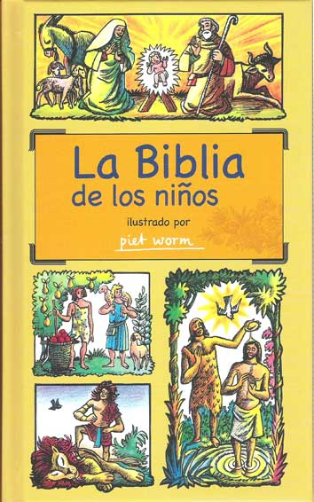 LA BIBLIA DE LOS NIÑOS                                                          ILUSTRADO POR P