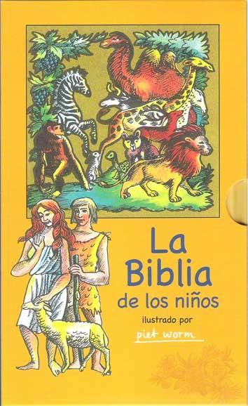 LA BIBLIA DE LOS NIÑOS (ESTUCHE)                                                ILUSRADO POR PI