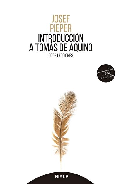 INTRODUCCIÓN A TOMÁS DE AQUINO                                                  DOCE LECCIONES
