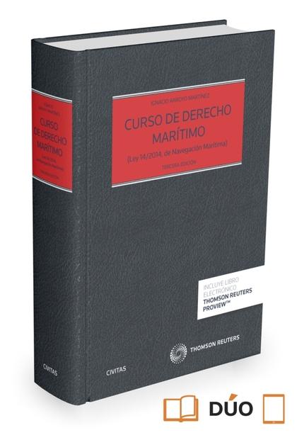 CURSO DE DERECHO MARÍTIMO (PAPEL + E-BOOK).