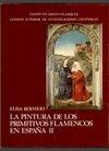 PINTURA DE LOS PRIMITIVOS FLAMENCOS EN ESPAÑA. TOMO II, LA ( ).