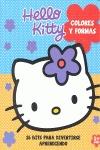 HELLO KITTY COLORES Y FORMAS