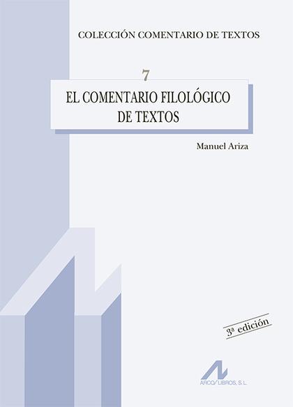 COMENTARIO FILOLOGICO DE TEXTOS