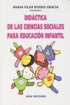 DIDÁCTICA DE LAS CIENCIAS SOCIALES PARA EDUCACIÓN INFANTIL (INMINENTE)