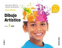 CUADERNO EDUCACION PLASTICA, VISUAL Y AUDIOVISUAL DIBUJO ARTISTICO SERIE NUEVO D