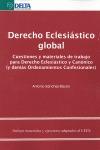 DERECHO ECLESIÁSTICO GLOBAL. CUESTIONES Y MATERIALES DE TRABAJO PARA DERECHO ECLESIÁSTICO Y CAN