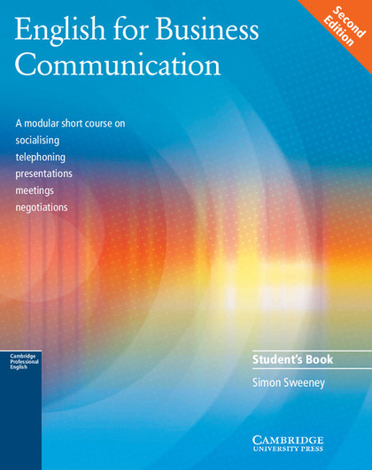 ENGLISH FOR BUSINESS COMMUNICATION ST 2ª