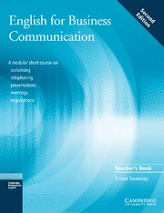 ENGLISH FOR BUSINESS COMMUNICATION TEACHER´S BOOK