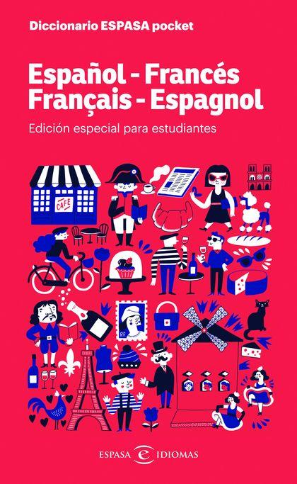 DICCIONARIO ESPASA POCKET. ESPAÑOL - FRANCÉS. FRANÇAIS - ESPAGNOL. ESDICIÓN ESPECIAL PARA ESTUD