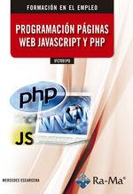 IFCT091PO PROGRAMACIÓN PÁGINAS WEB JAVASCRIPT Y PHP