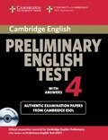 PRELIMINARY ENGLISH TEST 4 WITH ASWERNS + CD