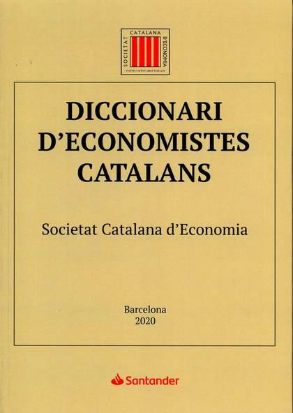 DICCIONARI D´ECONOMISTES CATALANS