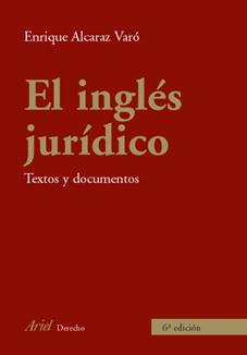 EL INGLES JURIDICO.