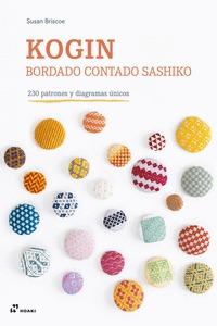 KOGIN - BORDADO CONTADO SASHIKO - 230 PATRONES Y DIAGRAMAS ÚNICOS.