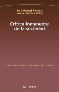 CRITICA INMANENTE DE LA SOCIEDAD