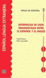 DIFERENCIAS DE USOS GRAMATICALES ENTRE EL ESPAÑOL Y EL INGLÉS