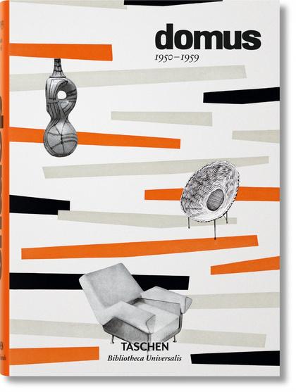 DOMUS 1950-1959- BIBLIOTECA UNIVERSALIS