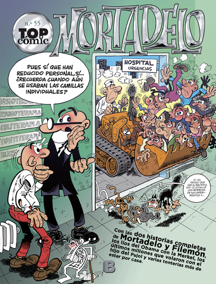 TOP CÓMIC MORTADELO 55. LOS MONSTRUOS