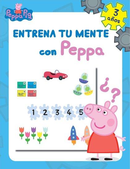 ENTRENA TU MENTE CON PEPPA. 3 AÑOS (PEPPA PIG. CUADERNO DE ACTIVIDADES).