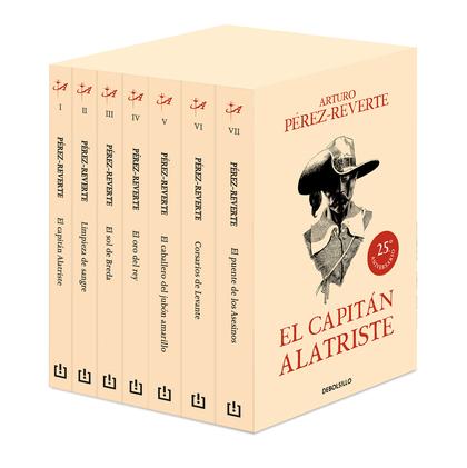 ESTUCHE CAPITÁN ALATRISTE  (7 VOL.).