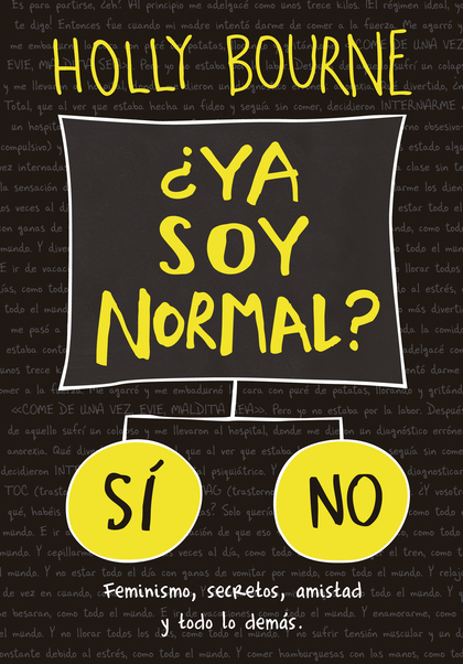 YA SOY NORMAL?.