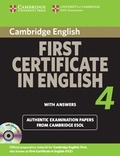 CAMBRIDGE FIRST CERTIFICATE IN ENGLISH 4 (PACK +CD+ANSWERS).