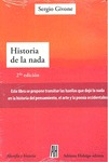 HISTORIA DE LA NADA.
