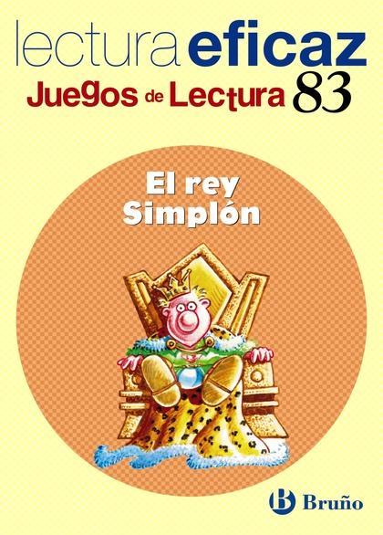 EL REY SIMPLÓN JUEGO LECTURA Nº 83