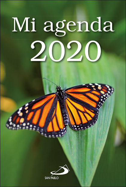 MI AGENDA 2020 BOLSILLO FUNDA TRANSPARENTE.