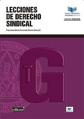 LECCIONES DE DERECHO SINDICAL