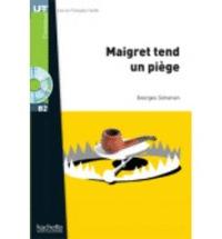 MAIGRET TEND UN PIEGE+CD. LIRE EN FRANCAIS FACILE B2