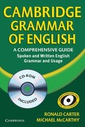 CAMBRIDGE GRAMMAR OF ENGLISH+CD TAPA DURA