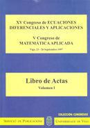 XV CONGRESO DE ECUACIONES DIFERENCIALES Y APLICACIONES : VIGO, 23-26 DE SEPTIEMBRE DE 1997