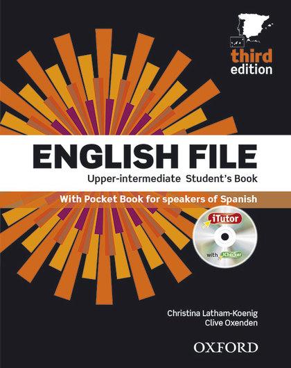 ENGLISH FILE UPPER-INTER.(ST+ITUTOR+POCKET).THIRD