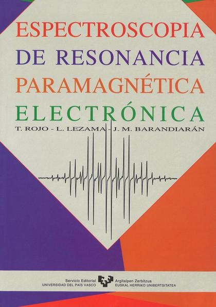 ESPECTROSCOPIA DE RESONANCIA PARAMAGNÉTICA ELECTRÓNICA