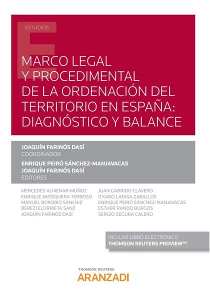 MARCO LEGAL Y PROCEDIMENTAL ORDENACION TERRITORIO EN ESPAÑA.
