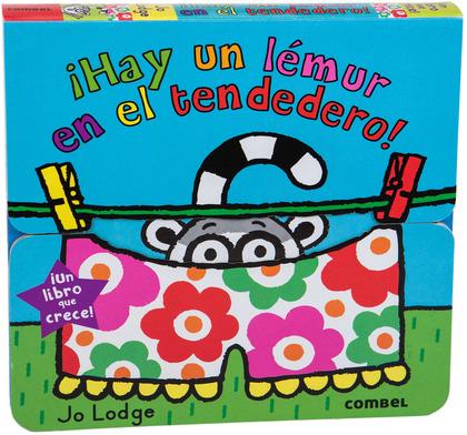 ¡HAY UN LÉMUR EN EL TENDEDERO!.