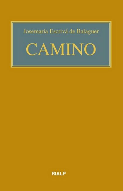 CAMINO (BOLSILLO, RÚSTICA, COLOR).