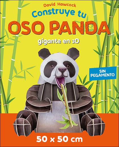 CONSTRUYE TU OSO PANDA GIGANTE EN 3D.