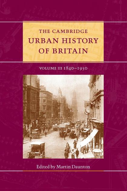 THE CAMBRIDGE URBAN HISTORY OF BRITAIN