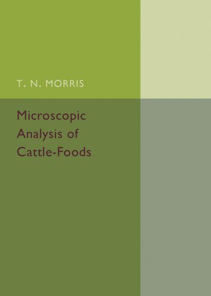 MICROSCOPIC ANALYSIS OF CATTLE-FOODS