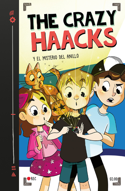 CRAZY HAACKS Y EL MISTERIO DEL ANILLO SERIE THE CRAZY 2,THE
