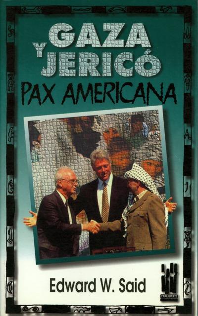 GAZA JERICO PAX AMERICANA