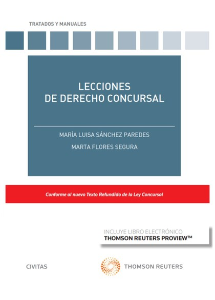 LECCIONES DE DERECHO CONCURSAL.